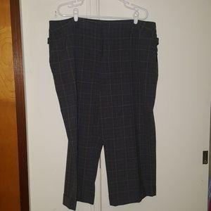 Nine West cropped pants 20w